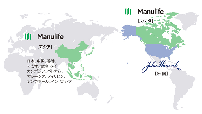 Manulife World Map